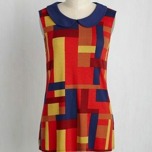 Modcloth The Intern is Here Top Size Small