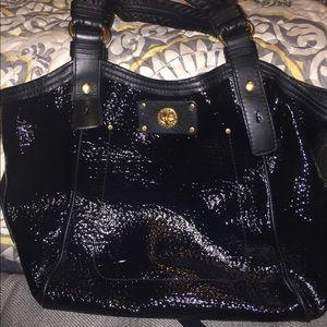 Marc By Marc Jacob black paten leather