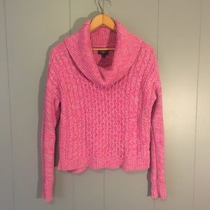 💖AEO CABLE KNIT COWL NECK SWEATER💖