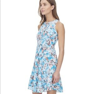 Rebecca Taylor Sleeveless Aloha Print Dress, sz 0