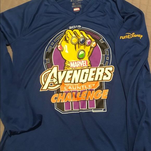 f27cc1d3 Champion Tops | Run Disney Avengers 2015 Long Sleeve Shirt | Poshmark