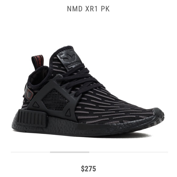 a910a28c adidas Shoes | Originals Nmd Xr1 Pk Triple Black Ba7214 | Poshmark