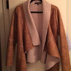 Jackets & Blazers - Faux Sherpa light coat