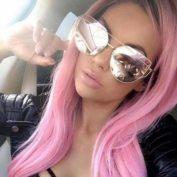 c60f2c16fafa Accessories - Pink Mirror Sunglasses