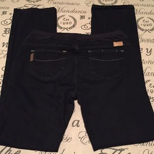Paige maternity jeans size 32 straight leg