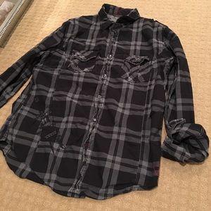 Guess men's button shirt