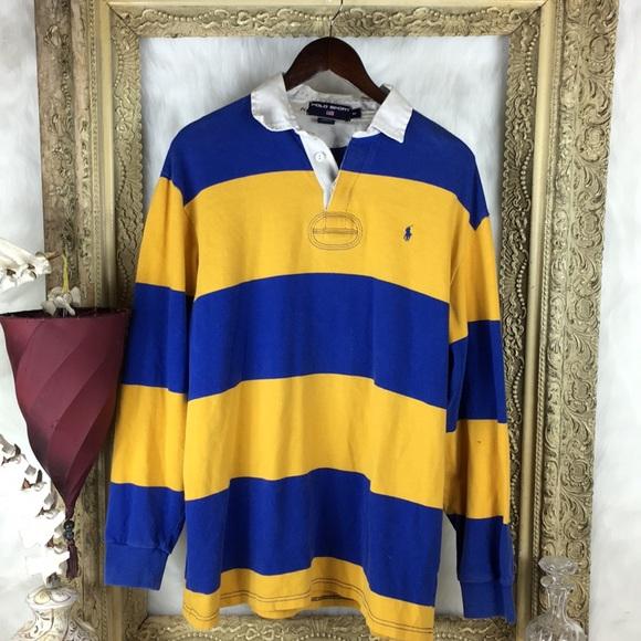 ec161bd296c Vintage Ralph Lauren Polo Sport Rugby style Shirt.  M_5a24d63eeaf03058a20b80b5