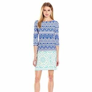 NWT Taylor royal aqua dress