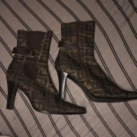0d70dc38ba06 Fendi Shoes | Vintage Singinture Boots | Poshmark