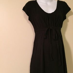 Maternity denim dress size 10 Ann Taylor loft
