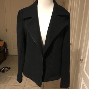 Black wool jacket by Theory