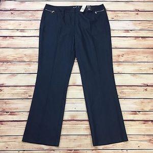 New York & Company 7th Ave Straight Leg Dress Pant