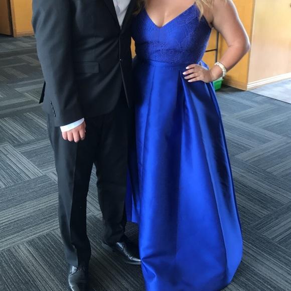 Nicole Miller Dresses | Royal Blue Formal Dress | Poshmark