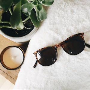Tortoise + Gold Sunglasses