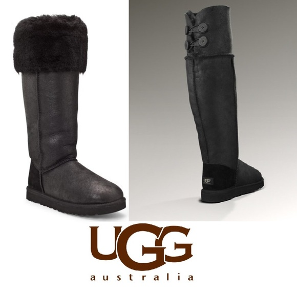 3f85e24b656 New Over The Knee Bailey Button Uggs size 8. M 5a24f4857f0a05694b0badfc