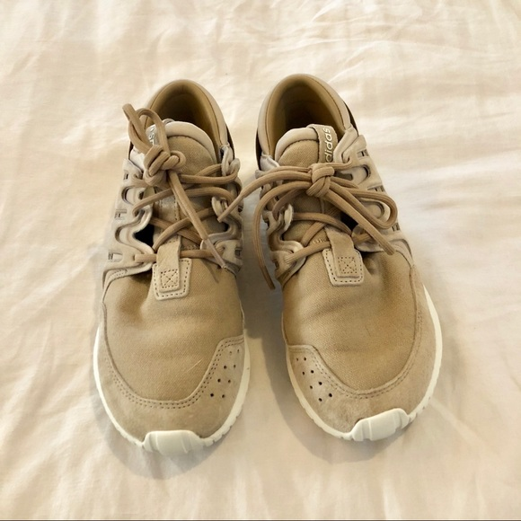 b6b555b5baeb adidas Shoes - Adidas Tubular Nova (Cream   Tan)