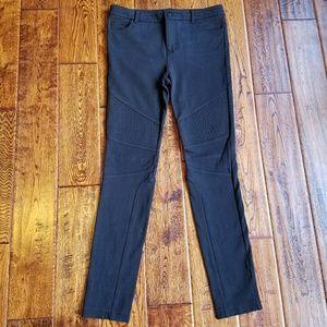 <Vince> moto black ponte jean legging