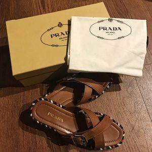 Prada Espadrilles Sandals/Slippers (EU 39/US 9)