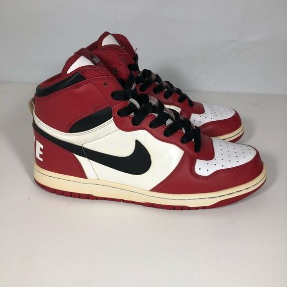 0412e732ec4953 Nike Big Nike Red Spike Lee SZ 8 Chicago Color Way.  M 5a250aca620ff788000bdd6e