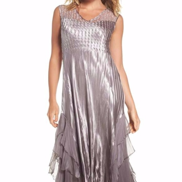 18d34ab066f Waterfall Dress with Jacket. NWT. KOMAROV