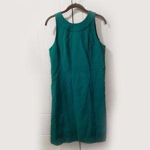 Merona Kelly Green Shift Dress size 10
