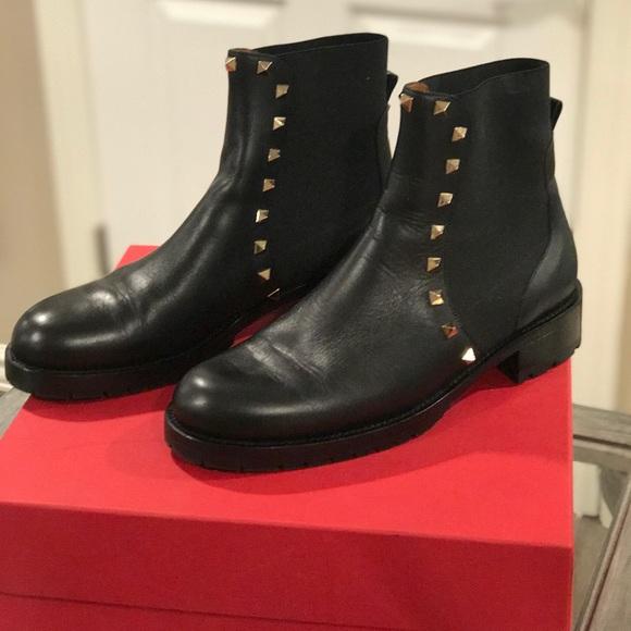 Valentino Rockstud Beatle Boot
