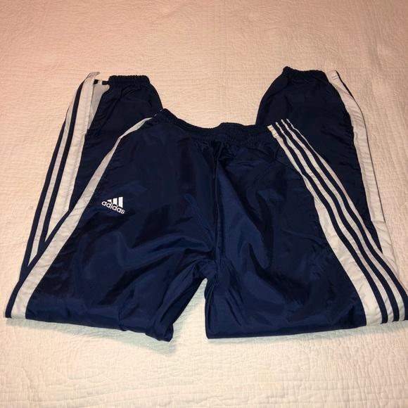 adidas pants stripes