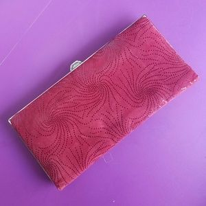 LODIS Wallet Clutch Red with Sparkles Design