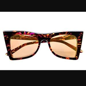 """""""Ivy"""" oversized cat-eye sunglasses from Wildfox"""