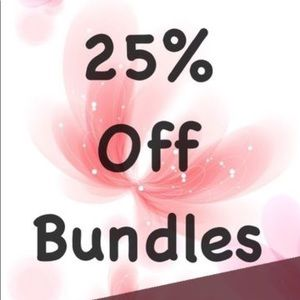 25% off bundles 2 or more items