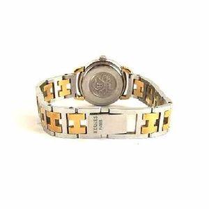 Hermès Pullman H Band Two-Tone Watch 220067