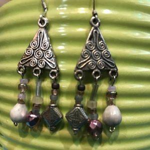 Jewelry - Sterling Silver Earrings bought in Hawaii—Nice 💜