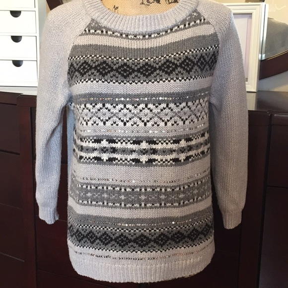 63% off Old Navy Sweaters - Old Navy Fair Isle Holiday Sweater ...