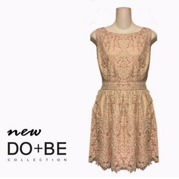 do & be Dresses & Skirts - Do & Be Vintage Inspired Little Lace Prom Dress