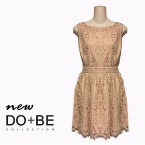 do & be Dresses - Do & Be Vintage Inspired Little Lace Prom Dress