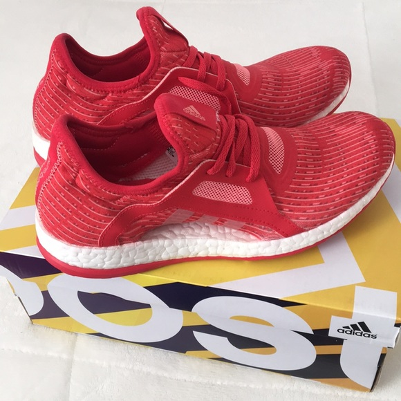 5f3d4c415c8ce adidas Shoes - Adidas Pure Boost X Womens Running Shoes - Red