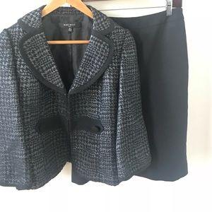 [Nine West] 2-Pc Suit Skirt Set