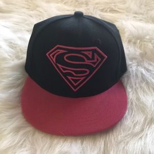 Other - Pink Superman Cap