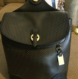 Dooney & Bourke Perforated Dots Backpack
