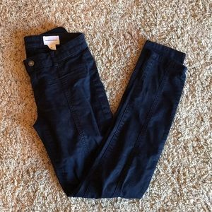 Club Monaco navy pants 97% cotton 3% spandex