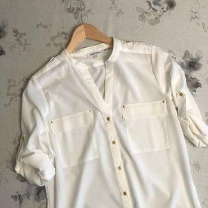 Tops - Calvin Klein blouse