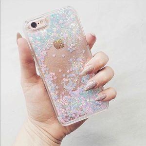 SkinnyDip Liquid Glitter iPhone Case 6S