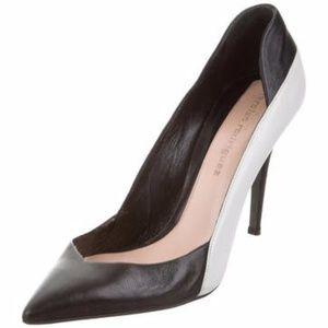 NARCISO RODRIGUEZ Color-block pumps heels