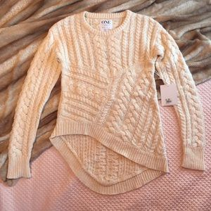 One Teaspoon Cable Knit Sweater