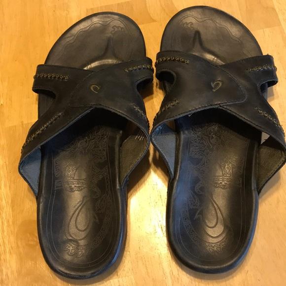 657e1f0e6f5 OluKai Mea Ola Slide Sandals Size 12. M 5a2573813c6f9f665b0ca9a7