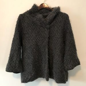 Cynthia Rowley wool blend cardigan sweater XL GUC