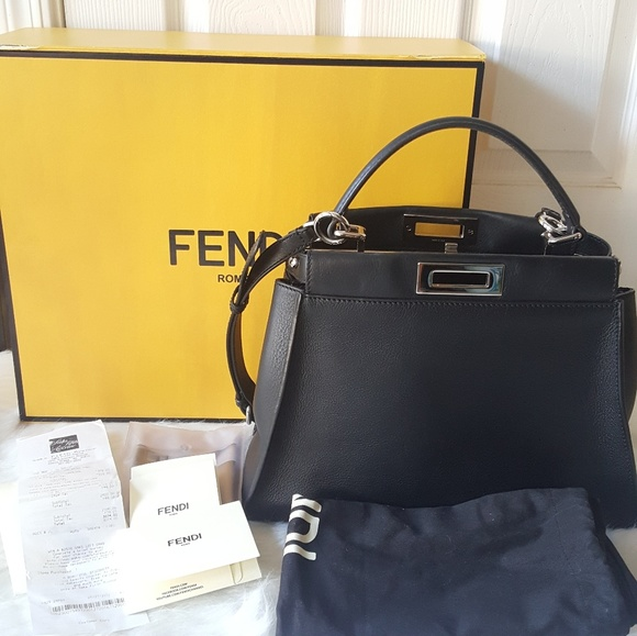377e71e46eae Fendi Handbags - Fendi Peekaboo Monster Bags
