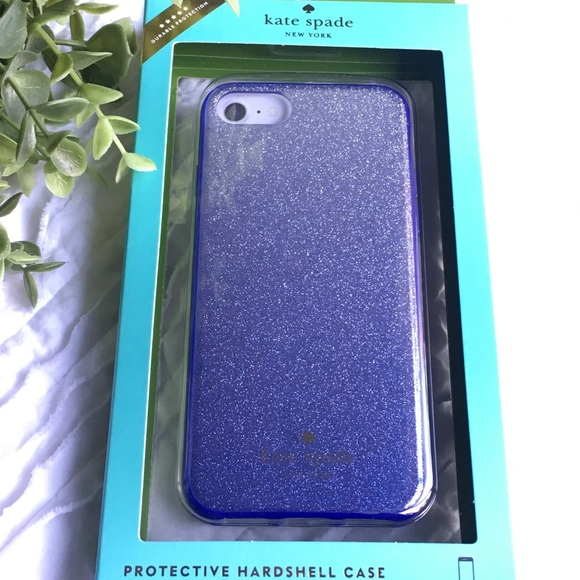 online store 0032c 7c289 Kate Spade ombre glitter iPhone 7 case NWT