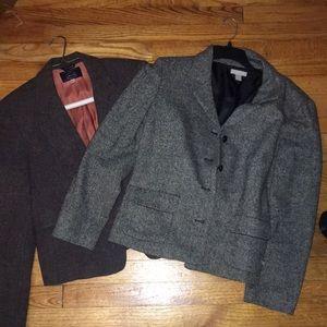 2 vintage style blazers