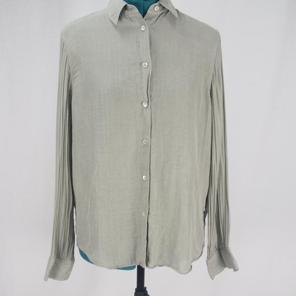 f80929523 Acne Tops   Studios Patti Slit Back Button Down Shirt   Poshmark